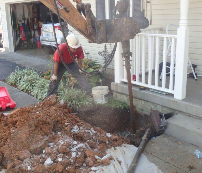 home foundation repair in Dayton